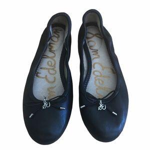 Sam Edelman Black Felicia Ballet Flat Shoes